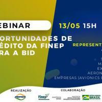FINEP e ABIMDE promovem webinar nesta quarta (13) para falar de linhas de crédito para a BID