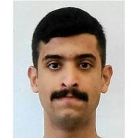 (Arquivo) Foto publicada em 7 de dezembro de 2019 pelo FBI, mostra um homem identificado como o cadete da Força Aérea Saudita, Mohamed Alshamrani