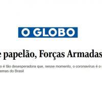 A situação é tão desesperadora que, nesse momento, o coronavírus é o menor dos problemas do Brasil