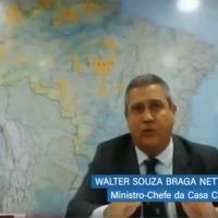Comissão Mista de Acompanhamento das Medidas relacionadas ao Coronavírus para ouvir o Ministro-chefe da Casa Civil, Walter Souza Braga Netto.