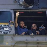 Fernando Azevedo diz que estava junto com presidente em helicóptero durante manifestação para checar segurança da Esplanada e da Praça dos Três Poderes
