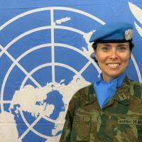 UN - Comandante Carla Araújo fala de sua experiência na ONU