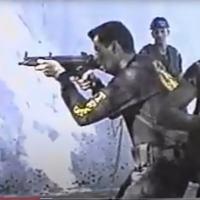 Renato Vaz conduzindo treinamento no 1ºBFEsp, anos 1990 Foto do Autor