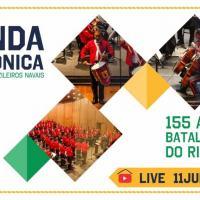 BR Live - Apresentação da Banda Sinfônica do Corpo de Fuzileiros Navais