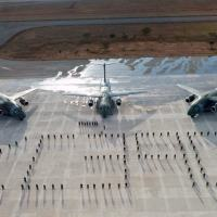 Aeronave de matrícula FAB 2855 pousou sábado (27JUN2020), na Ala 2, em Anápolis (GO) Foto - FAB