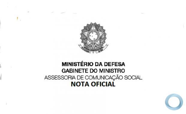 NOTAS COVID DN - Nota Oficial Ministério da Defesa