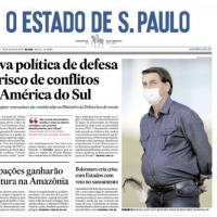 Em mais uma ação de Desinformação o jornal OESP tenta desestabilizar o Brasil no continente Latino Americano.