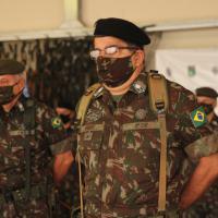 O General-de-Divisão Hertz Pires do Nascimento assumiu na sexta-feira (24JUL2020) o  comando da Divisão Encouraçada , como é chamada a 3ª DE