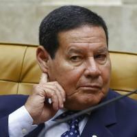 ARQUIVO) O vice-presidente em sessão de trabalho do Supremo Tribunal Federal em 3 de fevereiro de 2020, em Brasília.