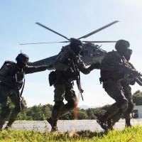 Matéria especial sobre o tradicional Batalhão Tonelero. Traz uma descrição completa da organização da unidade militar. Foto Operação Incursex 2017