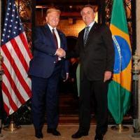 Presidente Donald Trump e Jair Bolsonaro e o mito do alinhamento  Foto Presidência
