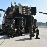 Simulação - Exercício de Certificação do Adestramento de Grupo de Artilharia de Campanha 29º GAC AP  Foto - CAS-SUL