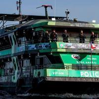 Inaugurada no início do mês de Agosto 2020, embarcação, no âmbito do Programa Nacional de Segurança nas Fronteiras e Divisas – VIGIA, ajuda no combate ao tráfico e ao contrabando no Amazonas