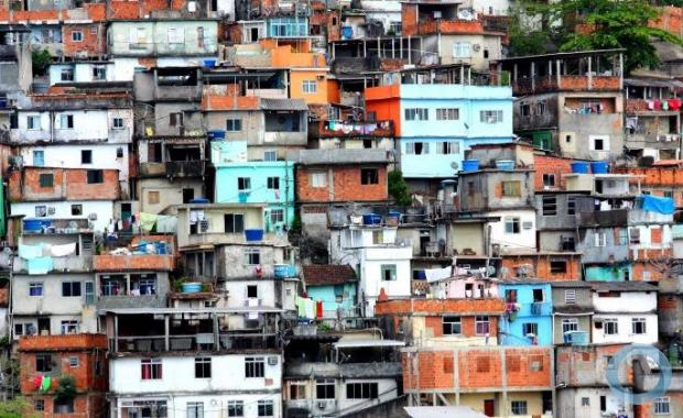 SIPRI used an image of Rio de Janeiro Favelas to ilustrate the article