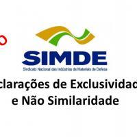 IDE 003/20 Informativo de Declaração de Exclusividade