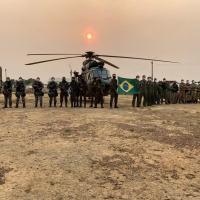 Treinamento prepara tropas para missão das Forças Armadas