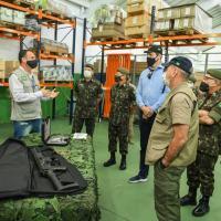Fábricas da IMBEL® em Minas Gerais recebem visita do Ministro da Defesa