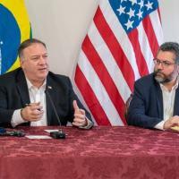 Tradução Fake da visita do Secretário de Estado Mike Pompeo expõe vínculos Bolivarianos