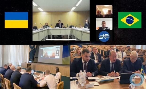 BR-UC - Ucrânia - Brasil: foi lançado diálogo sobre cooperação na indústria de defesa