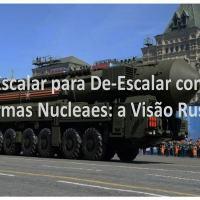 Janis Berzins - Escalar para De-Escalar com Armas Nucleaes: a Visão Russa. Na foto o sistema de míssil nuclear Yars da Rússia.