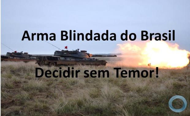 Reflexão sobre as decisões do caminho a seguir na encruzilhada estratégica sobre a Arma Blindada do Exército Brasileiro