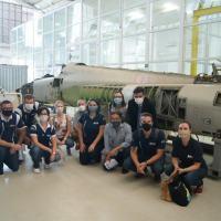 Akaer recebe comitiva da Agência Espacial Brasileira