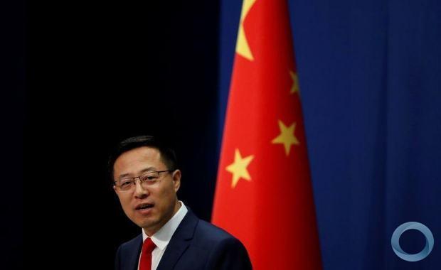 Porta-voz do Ministério das Relações Exteriores da China Zhao Lijian em Pequim 10/09/2020 REUTERS/Carlos Garcia Rawlins
