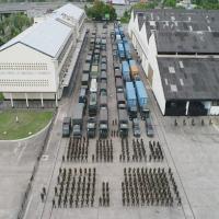 Preparação do Módulo Logístico Especializado da Força de Prontidão da Base de Apoio Logístico do Exército