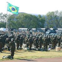Força-Tarefa Guarani se apresenta em Cascavel.