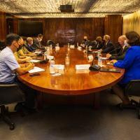 Ministro da Defesa recebe delegação da Suécia para lançamento do novo caça da FAB - Foto: Sd A. Santos