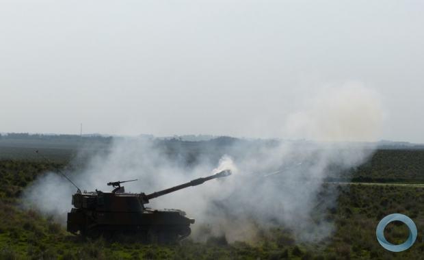Primeiro exercício com os novos obuseiros M109 A5+BR do 3º Grupo de Artilharia de Campanha