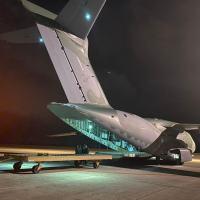 O C-390 Millenium, seis aeronaves em diversos estágios de produção, FAB deve receber mais um ainda este ano ( terceiro). Foto - FAB