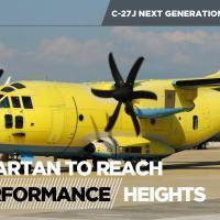 C-27J - Leonardo remodela a aeronave para alcançar novos níveis de performance