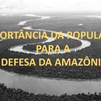 Gen Ex Pinto Silva - Importância da População para a Defesa da Amazônia