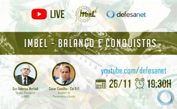 Live -  IMBEL - Balanço e Conquistas