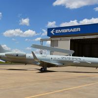 Embraer delivers the first modernized E-99 jet to the Brazilian Air Force Photo - embraer