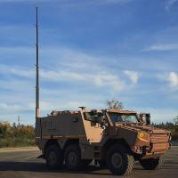 A Delegação Francesa de Armamentos (DGA) qualificou o Veículo Posto de Comando (Command Post Vehicle - EPC), variante do GRIFFON.
