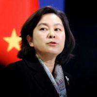 Porta-voz do Ministério das Relações Exteriors da China Hua Chunying durante entrevista coletiva em Pequim 30/11/2020 REUTERS/Thomas Peter