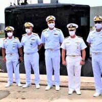 Visita do Commander, Submarine Forces à Força de Submarinos