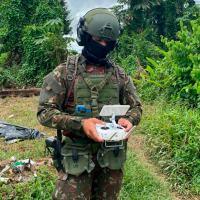 1ª Brigada de Infantaria de Selva desativa garimpo ilegal em Terra Indígena Yanomami, no estado de Roraima