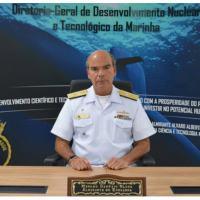 Entrevista com o Almirante-de-Esquadra Marcos Sampaio Olsen da Diretoria-Geral de Desenvolvimento Nuclear e Tecnológico da Marinha (DGDNTM).