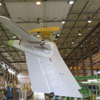 IAI-Aerostructures Division é um fabricante líder mundial aeroespacial Tier-1 de aeroestruturas em  metal e compósitos. Foto - IAI