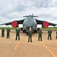 KC-390 - EMBRAER entrega quarta aeronave C-390 Millennium à FAB