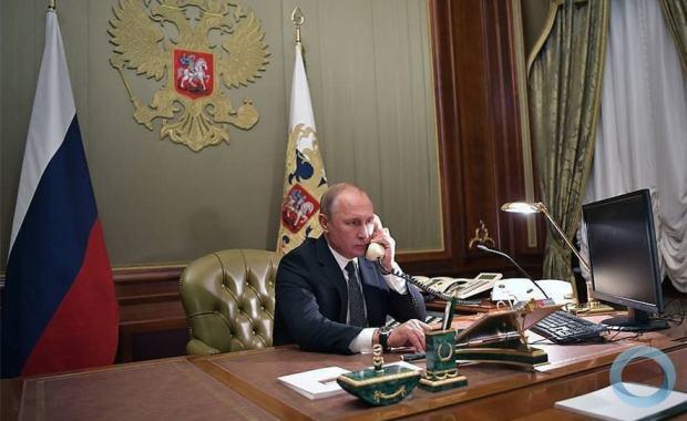Putin, o articulador. © Alexey Nikolsky/ Russia's  presidential press service/TASS