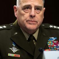 Arquivo) O chefe do estado-maior conjunto dos Estados Unidos, general Mark Milley