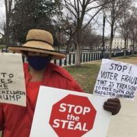Eram patriotas enervados', disse Dottie, moradora do estado de Maryland de 65 anos