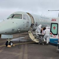 A primeira aeronave decolou de Manaus (AM) para Teresina (PI), às 7h57 (horário de Brasília)