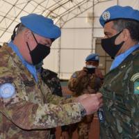A cerimônia de Transferência de Autoridade aconteceu no Líbano e foi presidida pelo Head of Mission / Force Commander da UNIFIL, Major General Stefano Del Col