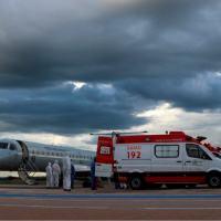 Exército descontamina aeronaves que transportaram pacientes de Manaus a Goiânia
