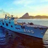 """Navio-Aeródromo Multipropósito """"Atlântico"""": o Capitânia da """"Aspirantex/2021"""""""